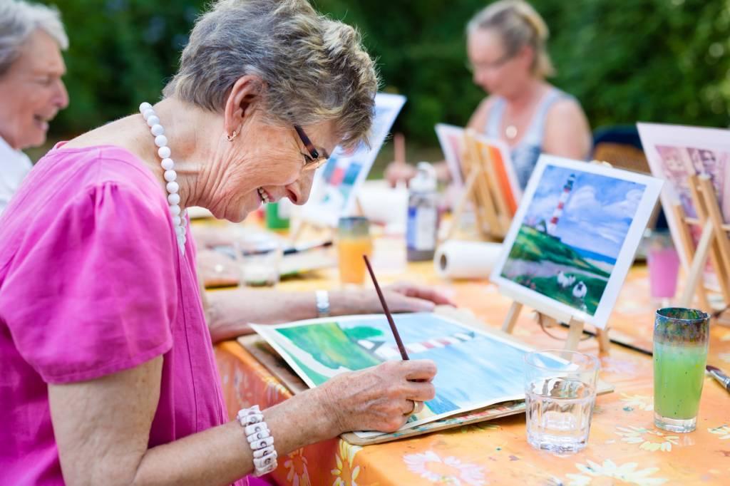 peinture senior